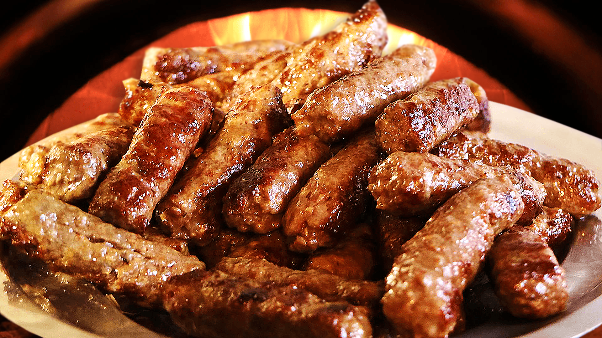 Grilled Cevapi Recipe - Skinless Sausages