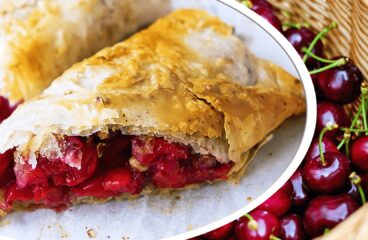 "Cherry Strudel Recipe (Easy Hungarian Strudel)<span class=""rmp-archive-results-widget ""><i class="" rmp-icon rmp-icon--ratings rmp-icon--star rmp-icon--full-highlight""></i><i class="" rmp-icon rmp-icon--ratings rmp-icon--star rmp-icon--full-highlight""></i><i class="" rmp-icon rmp-icon--ratings rmp-icon--star rmp-icon--full-highlight""></i><i class="" rmp-icon rmp-icon--ratings rmp-icon--star rmp-icon--full-highlight""></i><i class="" rmp-icon rmp-icon--ratings rmp-icon--star rmp-icon--half-highlight js-rmp-replace-half-star""></i> <span>4.7 (6)</span></span>"