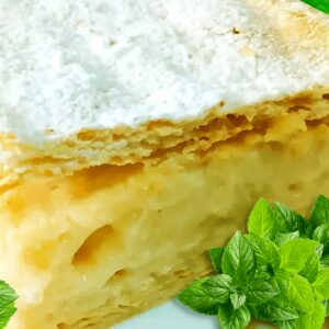 Easy Homemade Cremeschnitte (Vanilla Slice Recipe in 21 Steps)