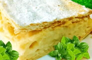 Homemade Cremeschnitte Vanilla Slice Recipe | Easy Vanilla Slice Video #210<span class=