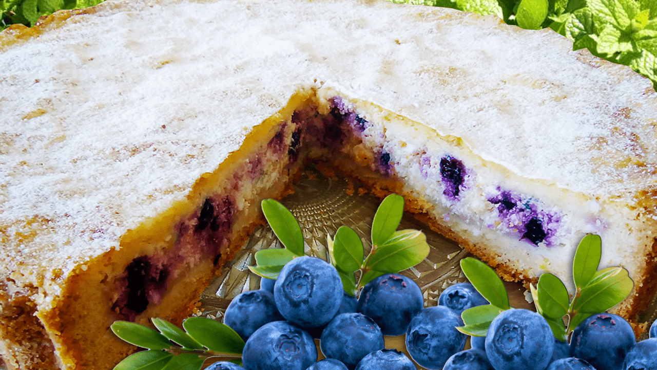 Baked Blueberry Cheesecake Recipe