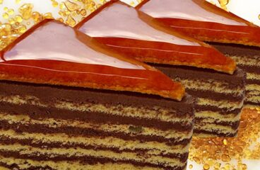 Homemade Cake | Best Hungarian Dobos Torte Recipe from Scratch #348<span class=