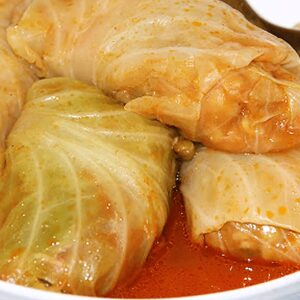 Authentic Hungarian Stuffed Cabbage Rolls with Pickled Cabbage in 18 Steps
