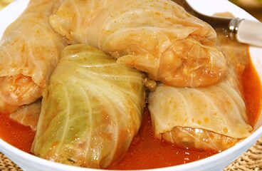 Hungarian Stuffed Cabbage Rolls with Pickled Cabbage | Easy Cooking Cabbage Video #380<span class=
