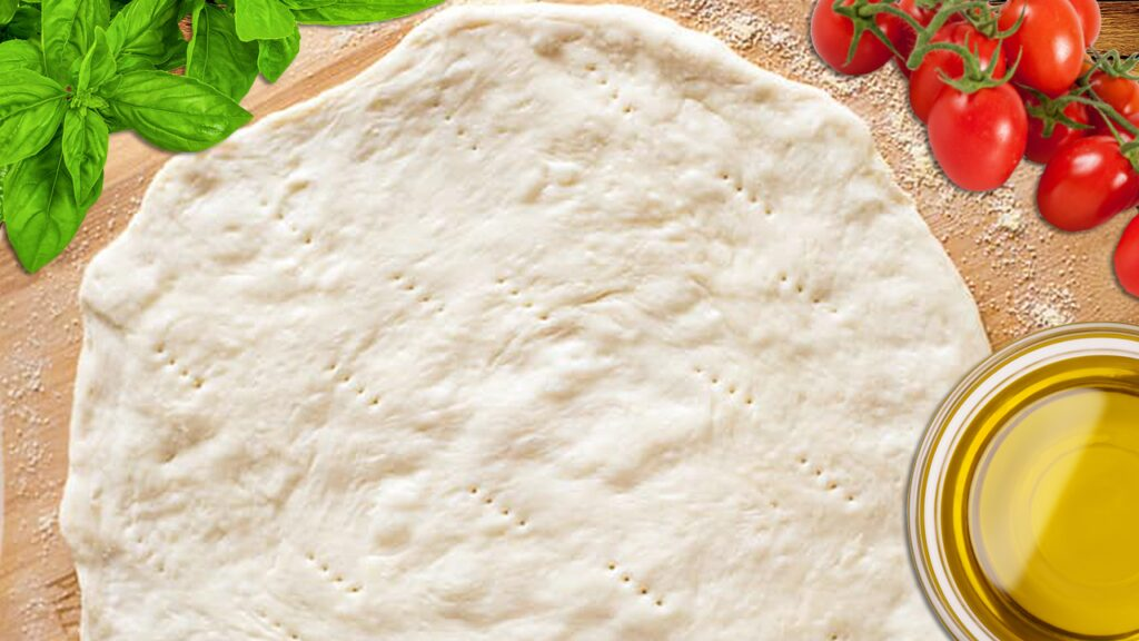 Easy Homemade Pizza Dough Recipe (Easy Pizza Crust Recipe)