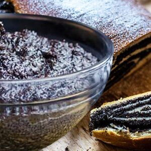 Poppy Seed Paste | Authentic Sweet Poppy Seed Filling Recipe for Cakes #374