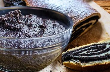Poppy Seed Paste | Authentic Sweet Poppy Seed Filling Recipe for Cakes #374<span class=
