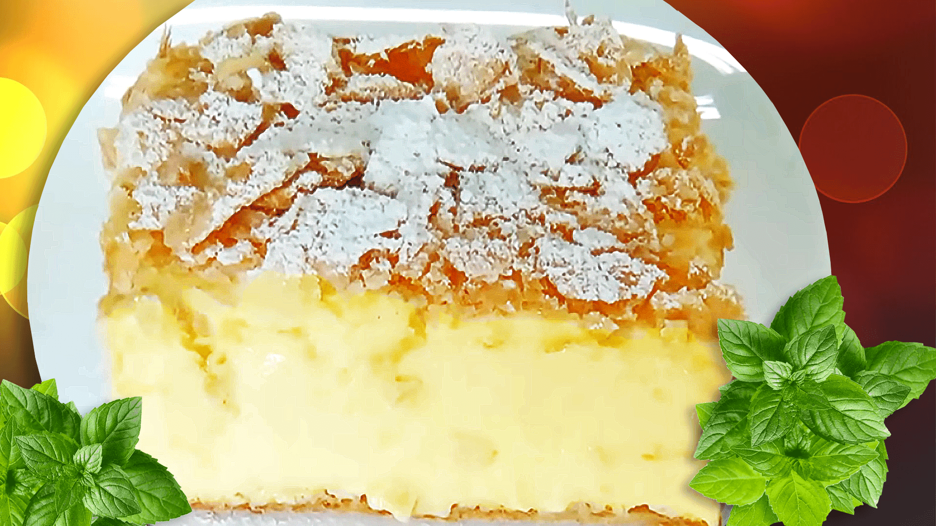 Homemade Cremeschnitte - Vanilla Slice Recipe