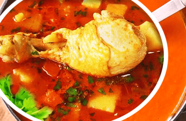 My Delightful and Easy Tomato Chicken Vegetable Soup Recipe #106<span class=