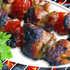 Easy Pork Kabobs in the Oven or on the Grill (Pork Kabobs Recipe in 9 Steps)