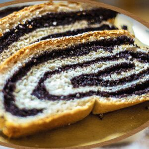 German Poppy Seed Cake Mohnstriezel | Easy Baking Poppy Seed Roll Video #368