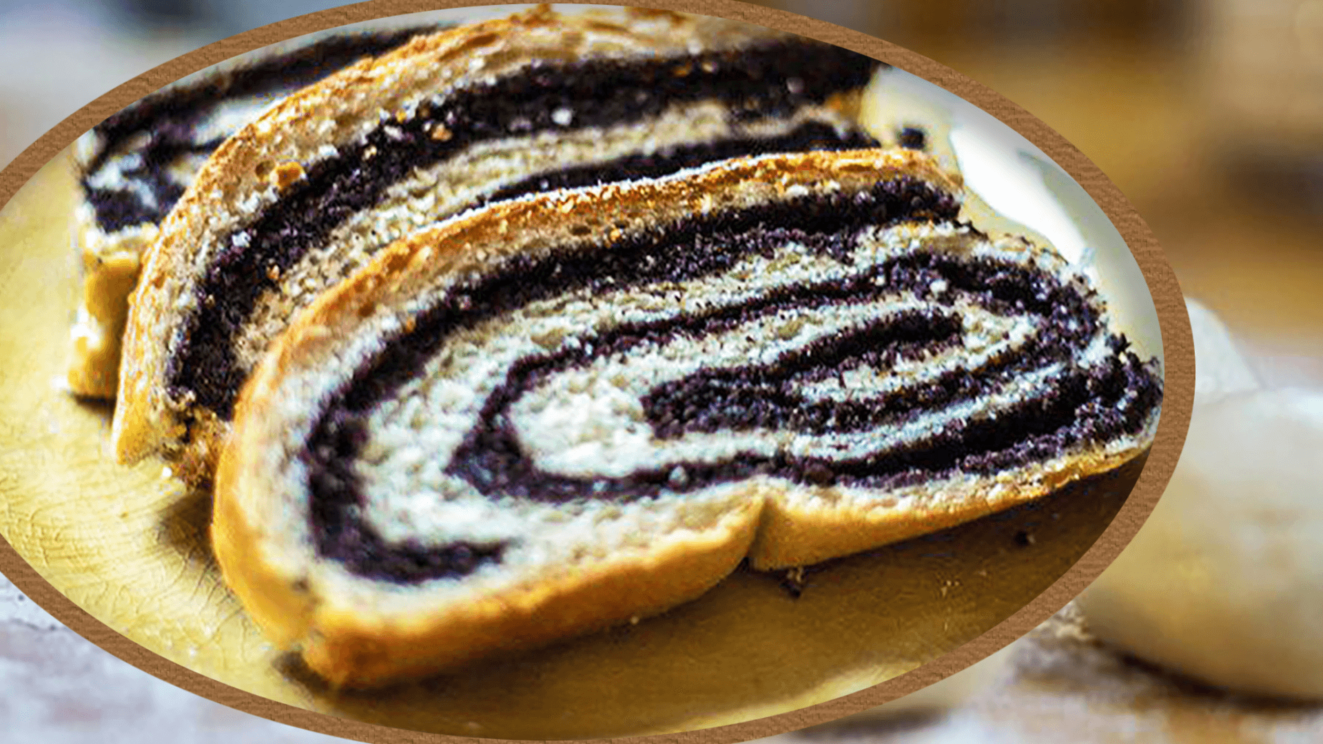 German Poppy Seed Cake (Mohnkuchen )