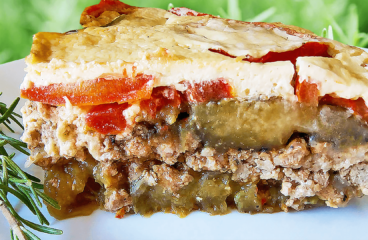 Greek Moussaka Recipe with Eggplant | Easy Cooking Eggplant Recipe Video #351<span class=