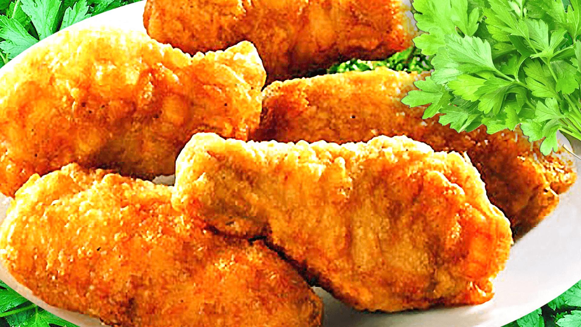 Chicken Schnitzel Recipe with Breadcrumbs