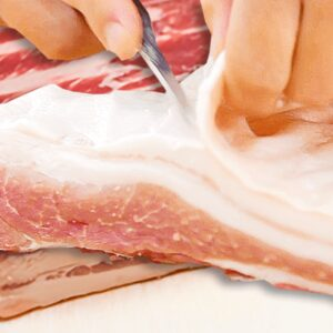 How to Cut the Skin from Pork Belly or Brisket (Pork Belly Recipe in 4 Steps)