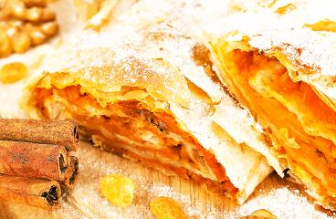 Homemade Pumpkin Strudel Recipe | My Easy Pumpkin Pie Video #198<span class=