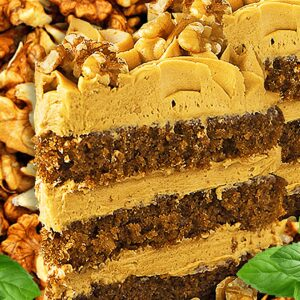 Delicious Coffee and Walnut Cake Recipe in 20 Steps