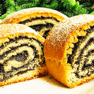 Transylvanian Poppy Seed Roll Cake (Best Poppy Seed Roll Cake Recipe)