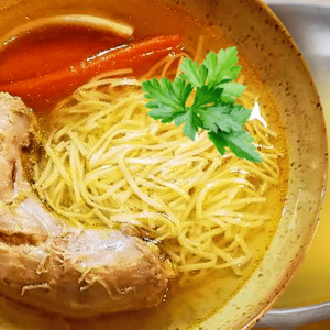 Turkey Noodle Soup Recipe (Easy Vegetable Turkey Soup Recipe)