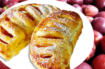 Easy Apple Turnover Recipe (Apple Turnovers with Puff Pastry in 13 Steps)<span class=