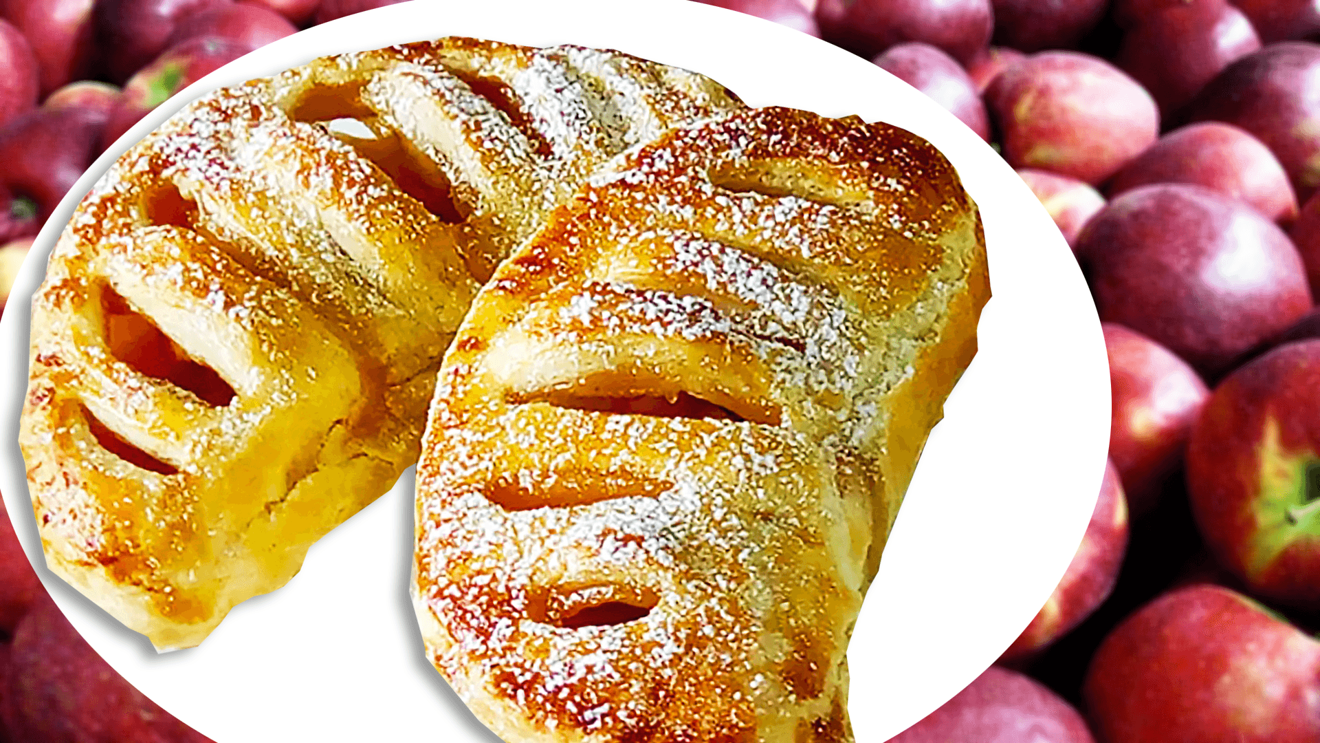Apple Turnover Recipe - Jam and Apple Turnovers