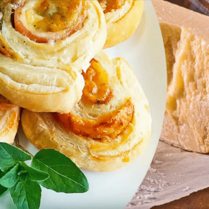 Ham and Cheese Pinwheels | My Easy Pinwheels Recipe with Puff Pastry #221