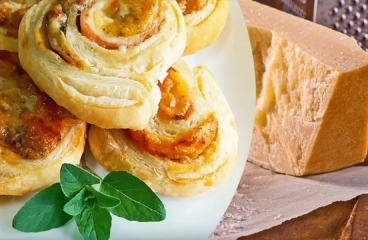 Ham and Cheese Pinwheels | My Easy Pinwheels Recipe with Puff Pastry #221<span class=