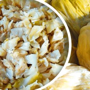 Basic Sauerkraut Salad Recipe with Vinegar | My Easy Raw Sauerkraut Video #126