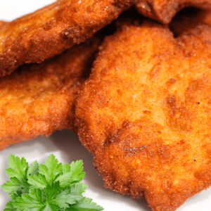 How to Make Chicken Breast Schnitzel (Basic Chicken Schnitzel Recipe in 8 Steps)