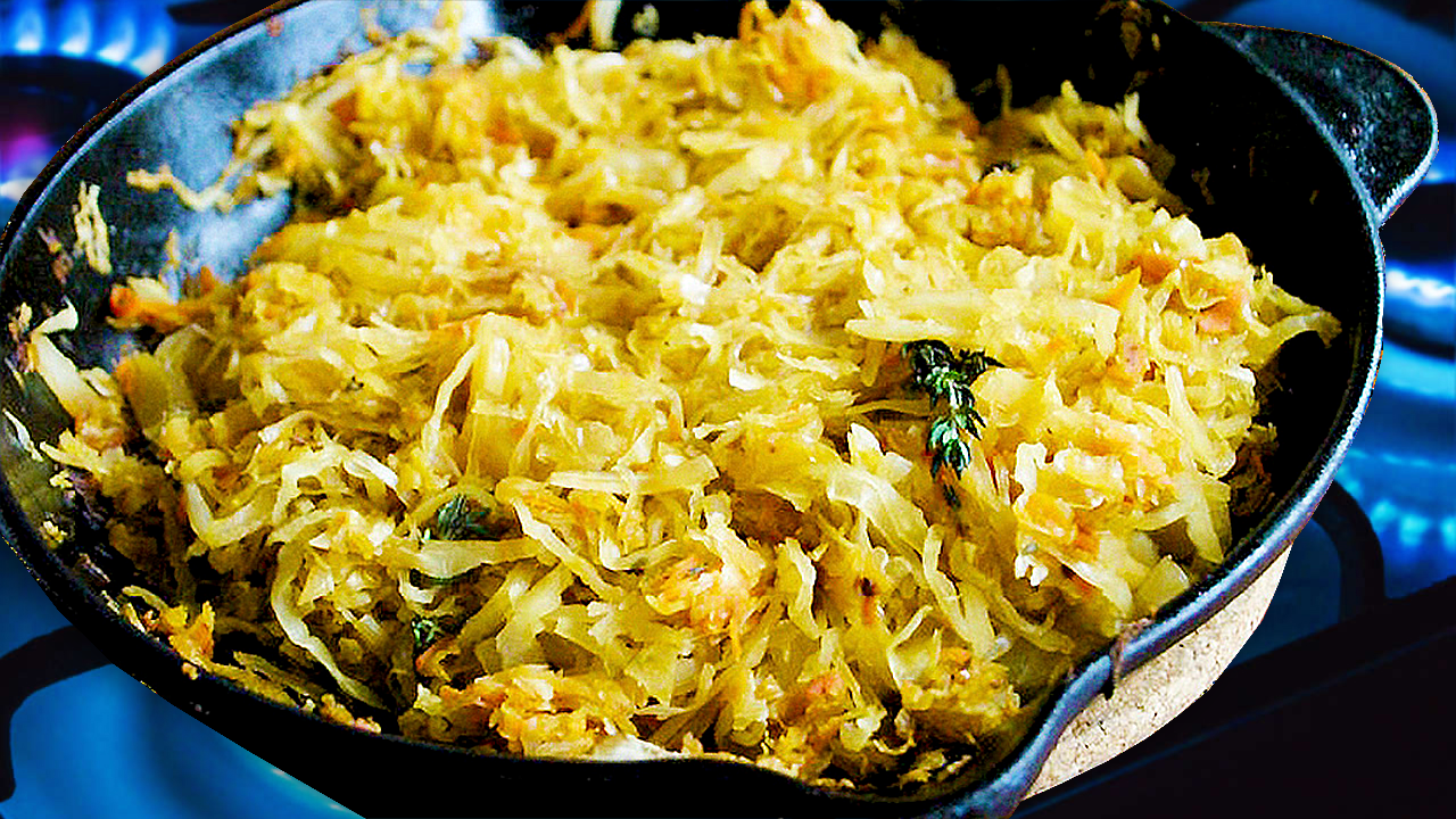 Fried Sauerkraut Recipe on the Stovetop