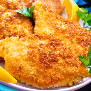 Pork Schnitzel with Breadcrumbs | My Easy German Pork Schnitzel Recipe #149