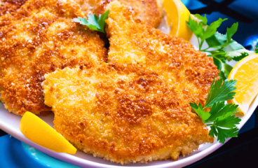 "Pork Schnitzel with Breadcrumbs (Easy Pork Schnitzel Recipe)<span class=""rmp-archive-results-widget ""><i class="" rmp-icon rmp-icon--ratings rmp-icon--star rmp-icon--full-highlight""></i><i class="" rmp-icon rmp-icon--ratings rmp-icon--star rmp-icon--full-highlight""></i><i class="" rmp-icon rmp-icon--ratings rmp-icon--star rmp-icon--full-highlight""></i><i class="" rmp-icon rmp-icon--ratings rmp-icon--star rmp-icon--full-highlight""></i><i class="" rmp-icon rmp-icon--ratings rmp-icon--star rmp-icon--full-highlight""></i> <span>5 (2)</span></span>"