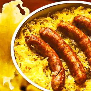 RECIPE #1! Sausage and Sauerkraut Casserole - Authentic Sauerkraut Casserole Recipe with Potatoes