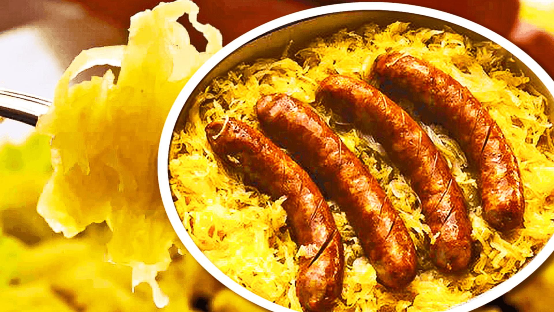 Sausage and Sauerkraut Casserole with Potatoes