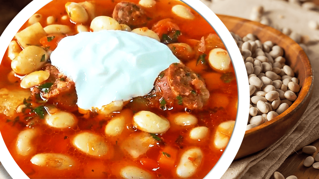 White Bean Soup Recipe - White Bean and Sausage Soup