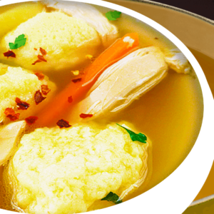 100% Authentic Chicken Soup with Semolina Dumplings [Hungarian Chicken Soup Recipe]