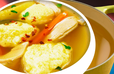 Authentic Hungarian Chicken Soup with Dumplings (Chicken Soup Recipe in 16 Steps)<span class=
