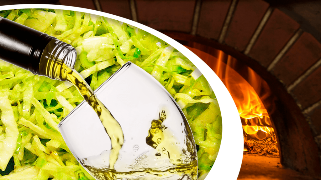 Cooking Cabbage with Wine (Fried Cabbage in the Oven)