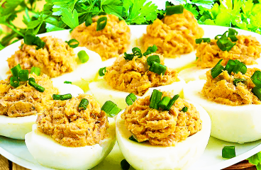 "Tuna Deviled Eggs (Easy Deviled Eggs Recipe)<span class=""rmp-archive-results-widget ""><i class="" rmp-icon rmp-icon--ratings rmp-icon--star rmp-icon--full-highlight""></i><i class="" rmp-icon rmp-icon--ratings rmp-icon--star rmp-icon--full-highlight""></i><i class="" rmp-icon rmp-icon--ratings rmp-icon--star rmp-icon--full-highlight""></i><i class="" rmp-icon rmp-icon--ratings rmp-icon--star rmp-icon--full-highlight""></i><i class="" rmp-icon rmp-icon--ratings rmp-icon--star rmp-icon--full-highlight""></i> <span>5 (1)</span></span>"