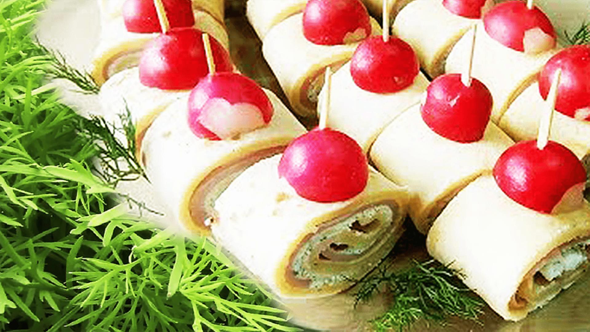 Ham and Cheese Roll-Ups (Cream Cheese Pinwheels)
