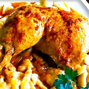 Authentic Hungarian Chicken Paprikash with Dumplings in 16 Steps