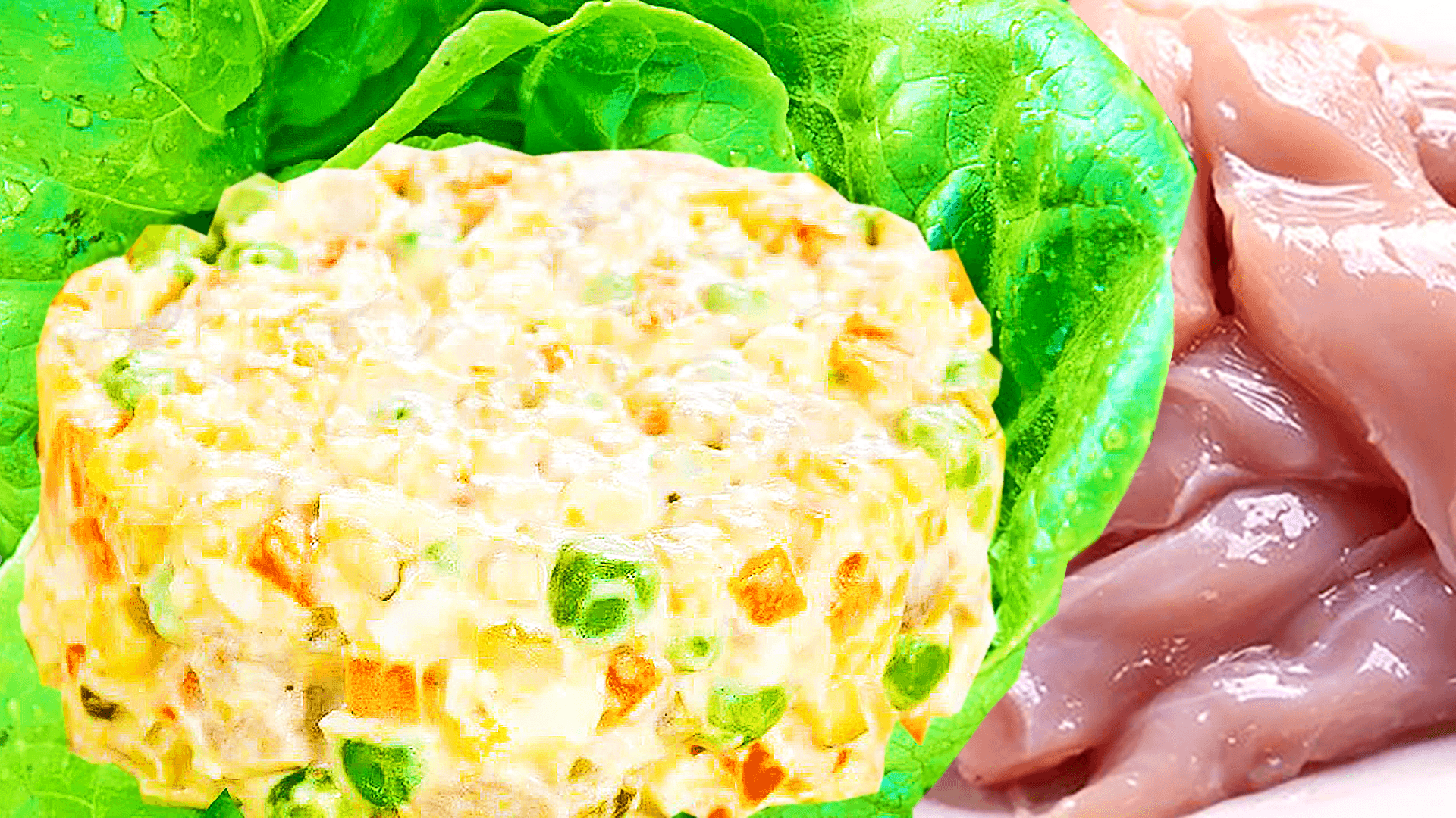 Homemade Chicken Salad with Vegetables - Easy Chicken Salad Recipe