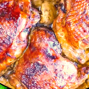 Easy Roast Turkey Thighs with Apple Sauce (Roasted Turkey Thighs Recipe in 14 Steps)