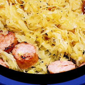 Simple Stovetop Sauerkraut and Sausage Casserole Recipe in 8 Steps