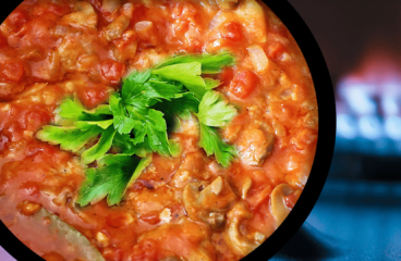 Easy Tomato Mushroom Gravy Mushroom Recipe in 11 Steps<span class=