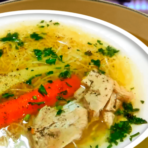 Vegetable Chicken Noodle Soup Recipe | My Easy Chicken Soup Video #093