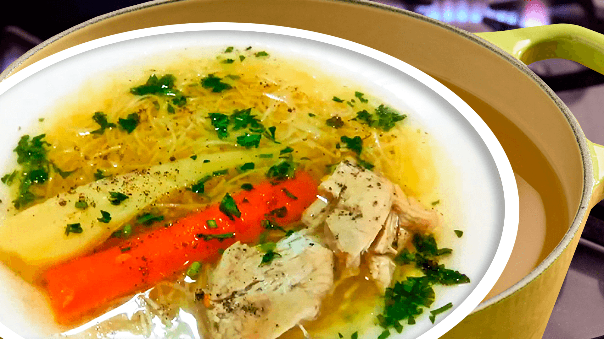 Easy Homemade Vegetable Chicken Noodle Soup Recipe