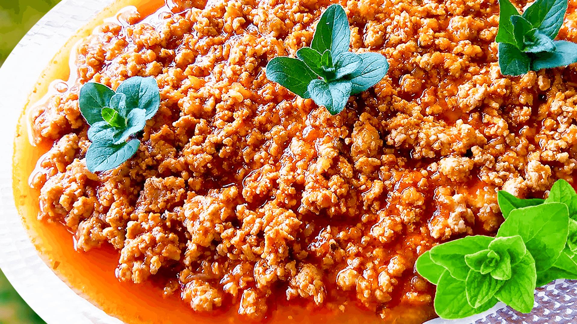 Simple Pasta Bolognese Sauce Recipe