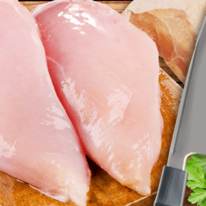 How to Debone a Chicken Breast (Boneless Chicken Breast Recipe in 6 Steps)