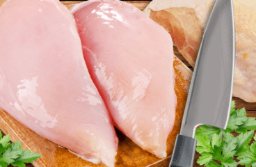 How to Debone a Chicken Breast (Boneless Chicken Breast Recipe in 6 Steps)<span class=